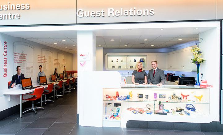 Guest Relations Business Centre New