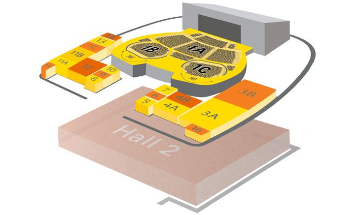 D Exhibition Layout : The venue visiting us acc liverpool