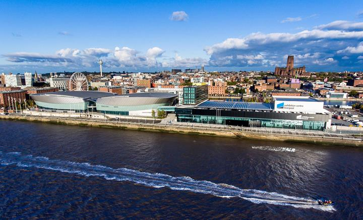 Exhibition Centre Liverpool Waterfront Parallax
